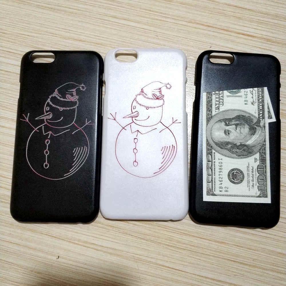 de776a26fa2 Divertido muñeco de nieve 100 dólares dinero Luna flor Sexy chica teléfono  funda para iPhone X