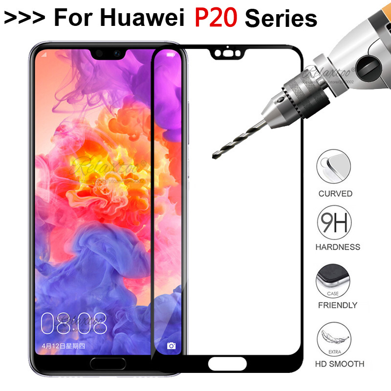 Full Cover Tempered Glass For Huawei P20 Lite Pro Screen Protector On Huawey Huavei P20Lite P20pro P 20 P20 Protective Film Glas
