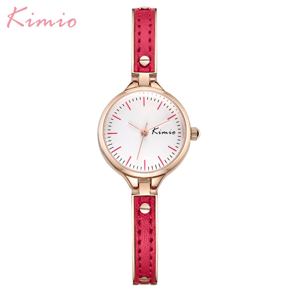 Kimio Luxury Top Brand Ladies Wristwatches Fashion Casual Women Watches Leather Bracelet Quartz Clock Relogio Feminino Gift BoxKimio Luxury Top Brand Ladies Wristwatches Fashion Casual Women Watches Leather Bracelet Quartz Clock Relogio Feminino Gift Box