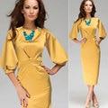 2017 Top Fashion Hot Sale Casual Straight Vestidos Plus Size Office Dress Autumb Dress Summer Styles Europe Aliexpress Sexy Boho