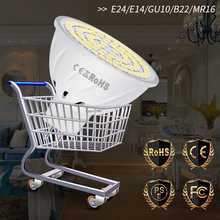GU10 Led Lamp E27 Led Bulb Corn Light E14 Spotlight MR16 220V Lampada 48 60 80leds Spot Light Bulbs B22 2835 SMD Home Lighting животные 100 вопросов и ответов