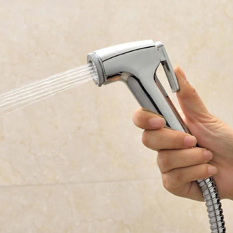 1PCS Handheld Spray Haustier Dusche Sprayer Kopf Tragbare Bidet Armaturen Dusche ABS Wc Bad Bad Für Waschen Badezimmer Toiletten
