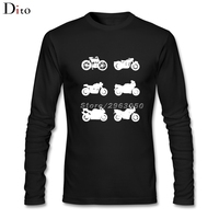 History Of Triumph Motorcycle Men Male Backing Tees Shirt Lovely Long Sleeve Father S Day Custom