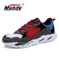 MYNDE Brand New Men Running Shoes Trainers Men Shoes Sneakers Outdoor Waterproof Walking Shoes Zapatillas Deportivas