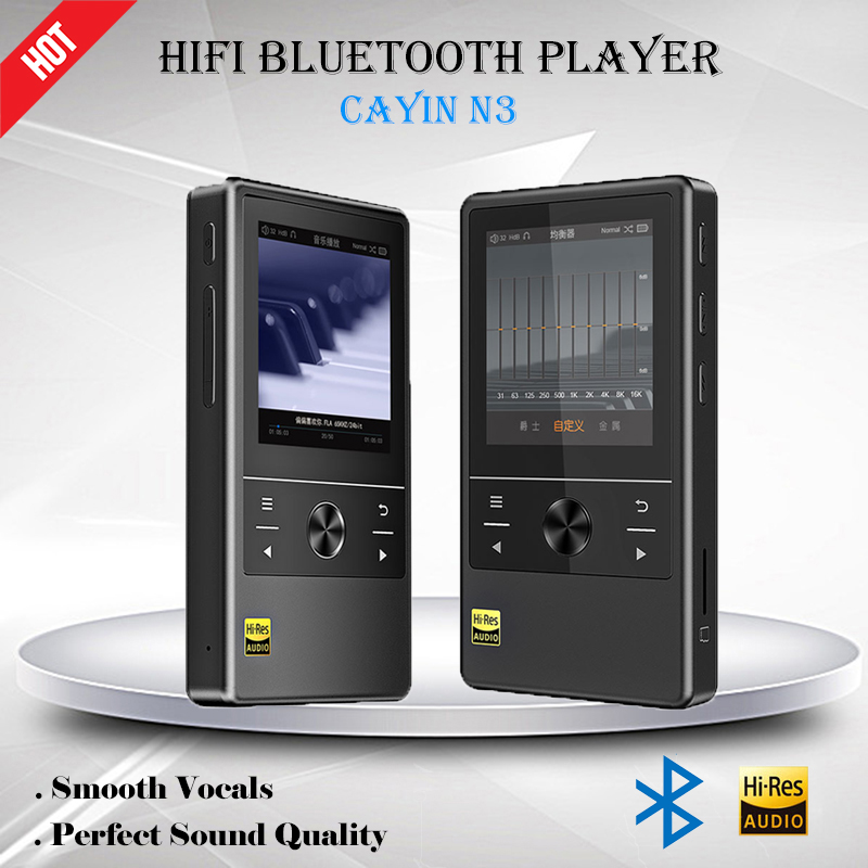 Cayin N3 Audio Player USB DSD Bluetooth 4.0 Portable MIni Hifi Music Player Flac AK4490EN DAC Digital Sports MP3 Player TF Card