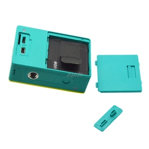 Image 4 - Battery Back Cover & Side Door Accessroy For Xiaomi Yi Sports Action Camera