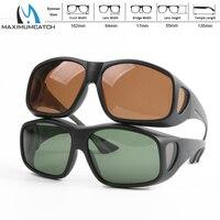 Maximumcatch надеть солнцезащитные очки клип на поляризационные солнцезащитные очки для рыбалки спортивные очки для занятий на открытом воздухе...