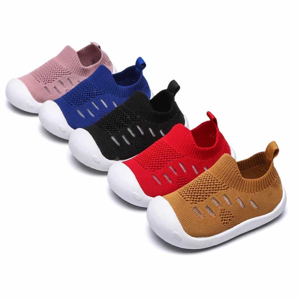 פעוטות תינוקות בייבי בנות בני צבעים בוהקים רשת ספורט ריצה נעליים יומיומיות chaussures femme בני נעליים