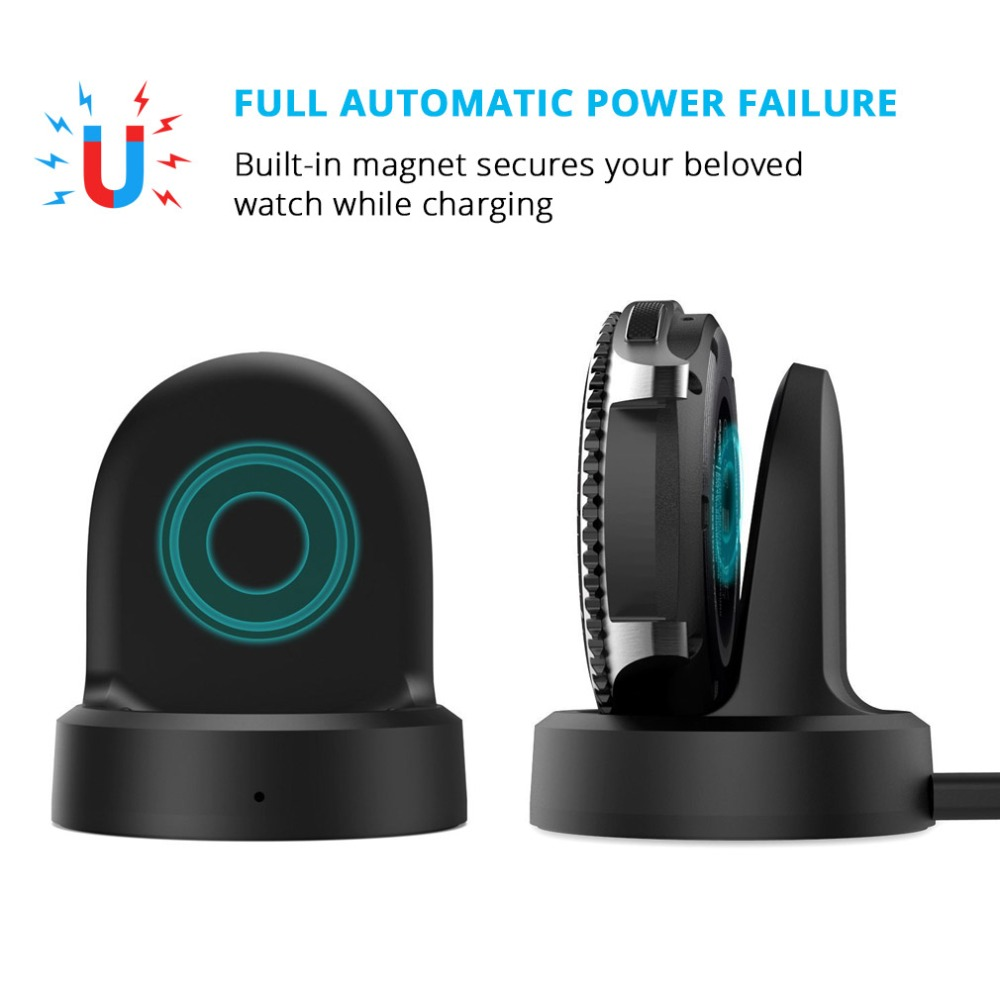 5V USB Wireless Charger Cradle Dock For Samsung Gear S2 S3 Frontier SM-R760/Frontier SM-R765/Classic SM-R770 Smart Watch Charger5V USB Wireless Charger Cradle Dock For Samsung Gear S2 S3 Frontier SM-R760/Frontier SM-R765/Classic SM-R770 Smart Watch Charger