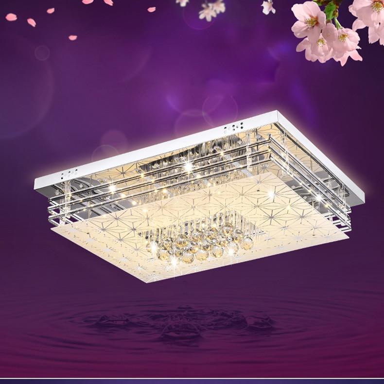 220V Simple Bedroom LED ceiling lamp Colorful LED Ceiling light fixture flush mount light light 4 color changeable ceiling lamp