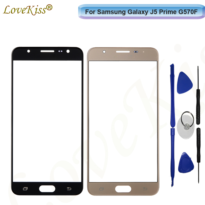 Сенсорный ЖК-экран для Samsung Galaxy J5 Prime J5Prime G570F On5 2016 G570, замена крышки передней и стеклянной панели