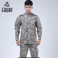 2019 New Camouflage Suit Army Military Uniform Men Tactical Cargo Pants Bdu Combat Uniform Army Men's Clothing Sets Jacket+pant