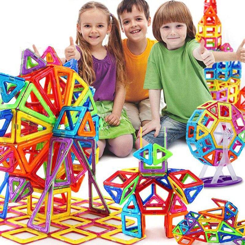 Mini, Construction, Magnetic, Blocks, DIY, Building