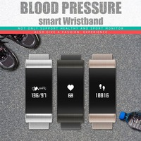 A66 IP67 Waterproof Smartband Fitness Tracker Pedometer Heart Rate Blood Pressure Monitor Smart Bracelet For Android For IOS