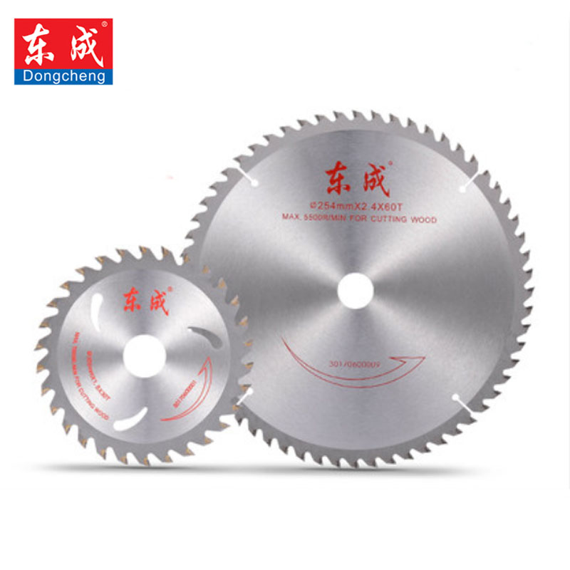 Dongcheng 10''/254mm Circular Saw Blade 100/120 Teeth Alloy Steel Wheel Discs For Cutting Aluminum Saw Blades Plate Power Tool 12 72 teeth 300mm carbide tipped saw blade with silencer holes for cutting melamine faced chipboard free shipping g teeth