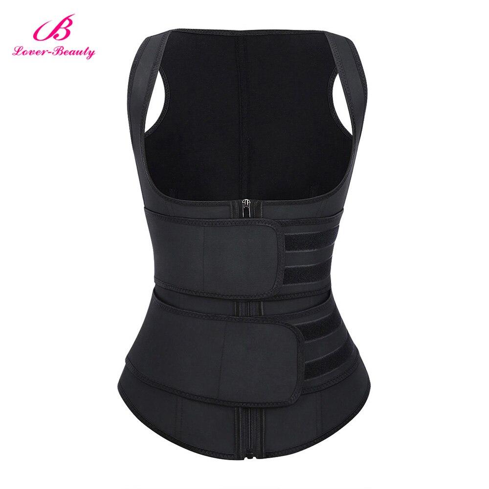 Lover Beauty Women Latex Waist Trainer Vest Body Shaper Women Corsets Plus Size Shapewear Slimming Belt Shapers Cincher