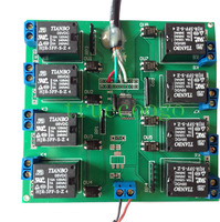 8 Way Serial Port Relay Module Serial Port Control Switch USB Timing Control Relay