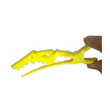 10 шт./лот Профессиональные салонные для волос расширение смешивания Цвет красный или желтый щипцы для углей