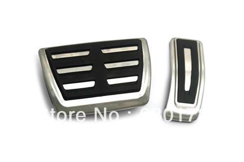 ФОТО RS5 Style Aluminium Pedal Set (Auto DSG Transmission) For Audi A4 B8
