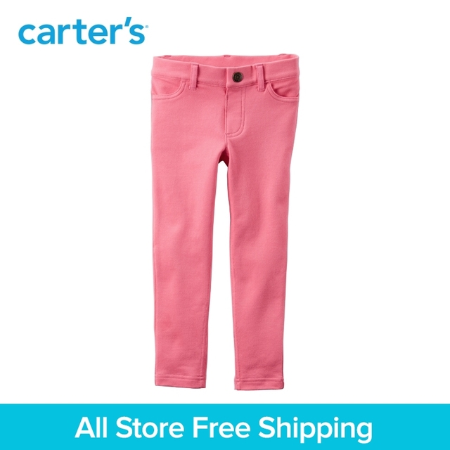 b8ec38137536d Carter's 1pcs baby children kids French Terry Jeggings 278G313,sold by  Carter's China official store