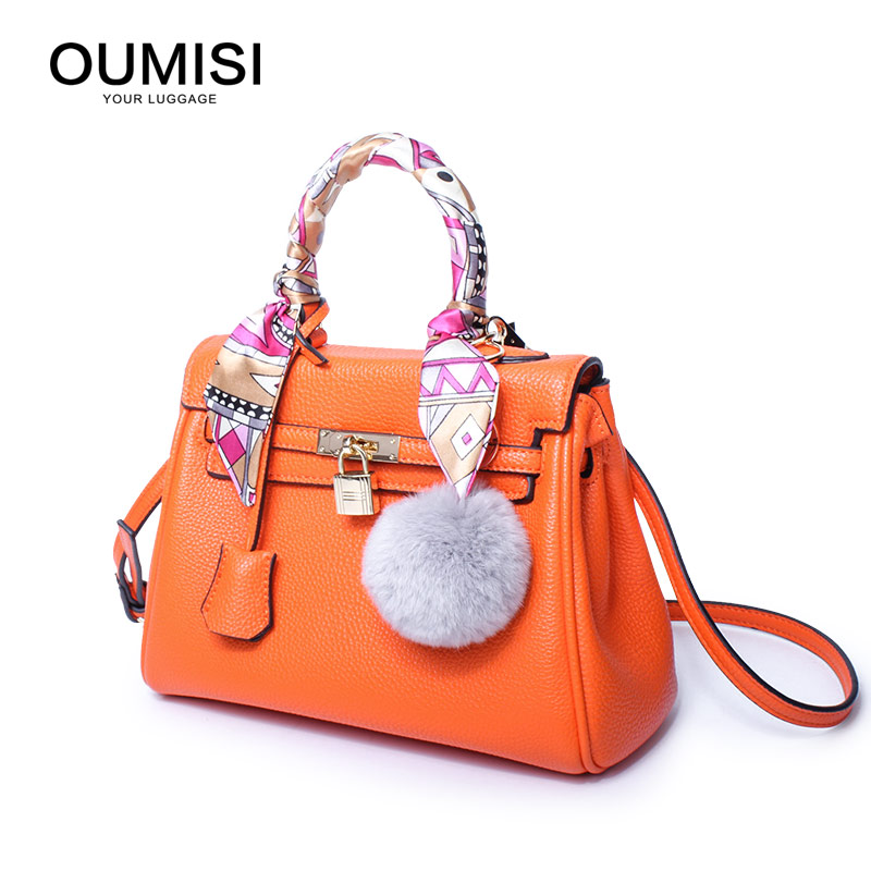 OUMISI Luxury Handbags Women Bags Designer Handbags High Quality PU Leather Bag Famous Brand Retro Shoulder