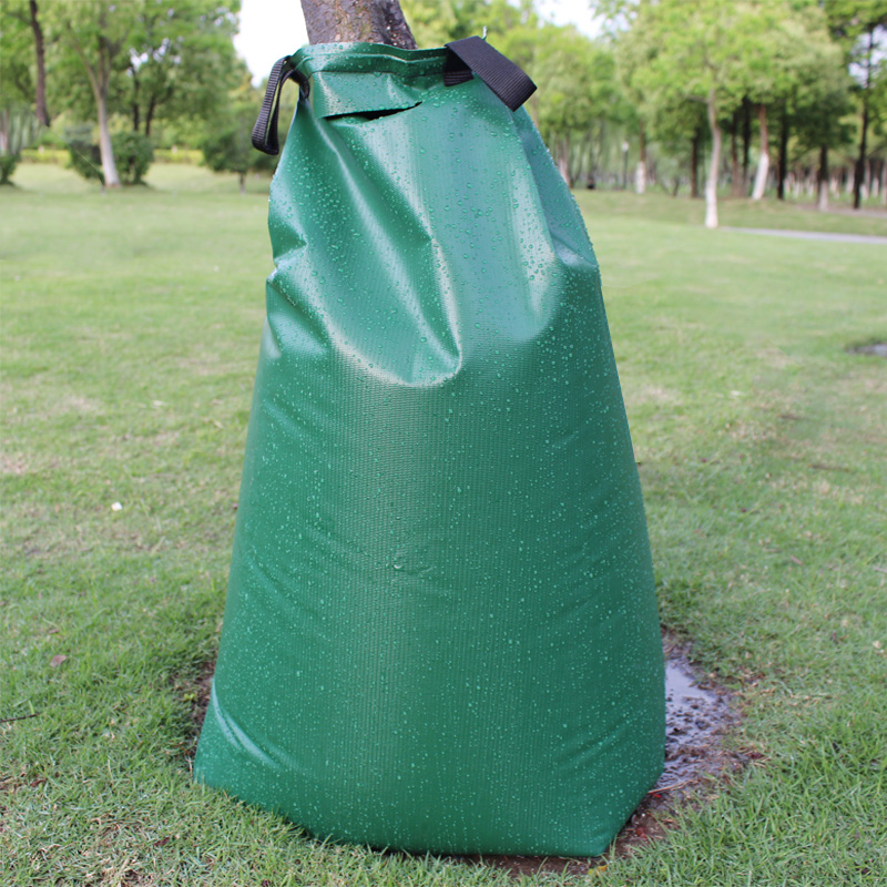 Tree Watering Bag 20 Gallon Green Young Water Slow Release Irrigation