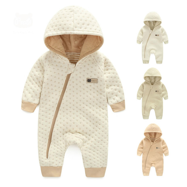 0-3 years old baby high quality  baby romper suit warm and comfortable baby clothes and thickened baby sleep bag.