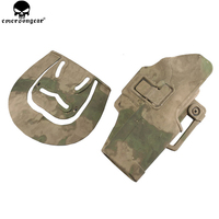 EMERSONGEAR Quickly Pistol Holster for GLOCK Militery Camo Airsoft Mag Pouch Plastic Holster Magazine Pouch EM6097