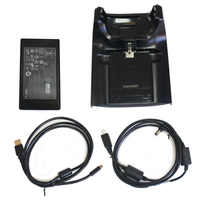 New CRD5500-100U USB Single-Slot Barcode Charging base power adapter Kit for Zebra Symbol Motorola MC55 MC65 MC5590 MC55A0