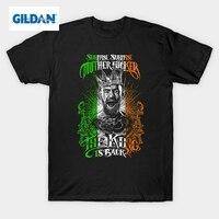 GILDAN Notorious Conor Mcgregor T Shirt Men Short Sleeve Casual MMA Irish Flag Design Cotton Tee