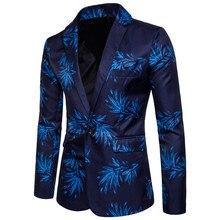 2019 New Men's Fashion Wedding Dress Boutique Blazer Groom Formal Business Casua