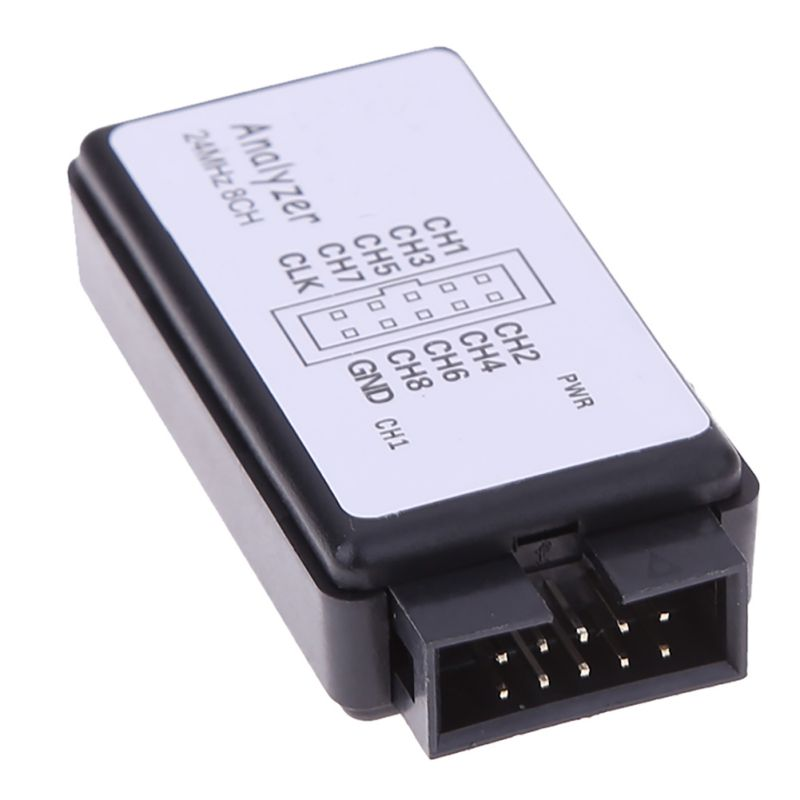 USB Logic SCM 24MHz 8 Channel 24M/seconds Logic Analyzer Debugger for ARM FPGA Logic Analyzer Logic 24M 8CH Стикер
