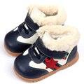 ботинки для девочки зима согреться девочка мальчик снега сапоги из мягкой кожи детская обувь зимняя детская сапоги для детей детские первые ходунки