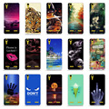 "Cartoon Painted Soft TPU Silicone Phone Case for Lenovo A6010 & A6000 & for Lenovo Lemon K3 K30-T Cover Skin 5"" K 3 A 6000 6010"