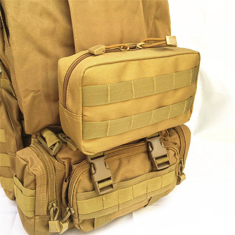 Tactical Molle EDC Utility Magazine Pouch Military Waist Tool Bag Multi-purpose Water-resistant Utility Gadget Gear Hanging Bag airsoftpeak military tactical waist hunting bags 1000d outdoor multifunctional edc molle bag durable belt pouch magazine pocket
