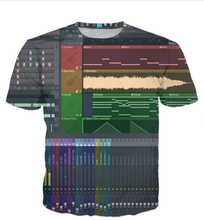 Latest types Men Women 3D Print Ableton Live T-Shirt Fashion Clothing Summer Style Crewneck t shirt tees tops t shirts R2369