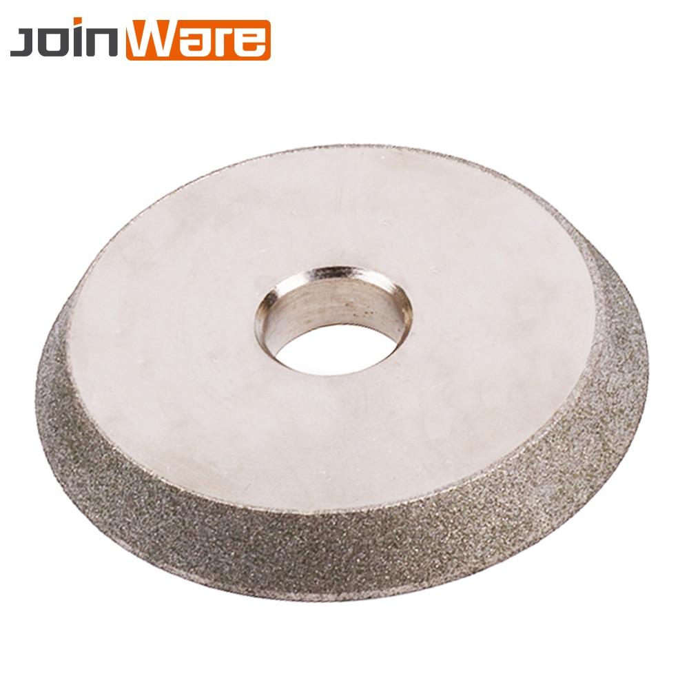 78x18mm Diamond Grinding Wheel Grinding Circle 150Grit Cutter Grinder For Carbide Metal Tungsten Steel Milling Cutter Sharpener