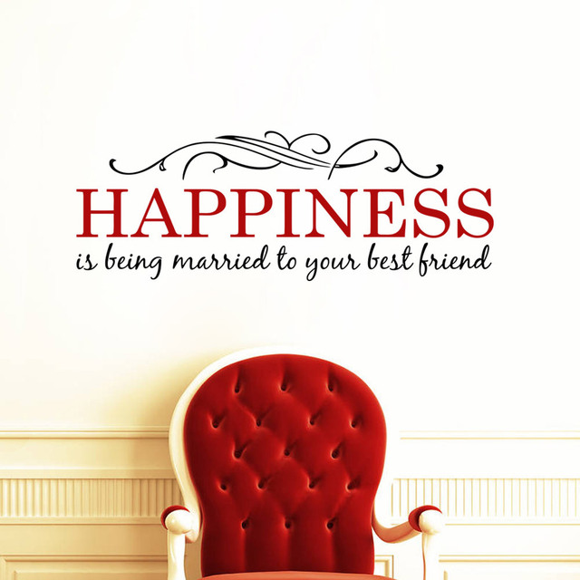 Happiness Wall Sticker