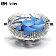 En-Labs 25dBA  Low Noise 3pin CPU Cooler with 90mm Detachable Fan for Intel  LGA  775/ LGA 1155X, for AM2/AM2+/AM3/FM1 – Blue