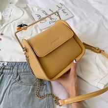 Female Crossbody Tote Bag For Women 2019 Quality PU Leather Luxury Handbag Designer Sac Main Ladies Chain Shoulder Messenger Bag
