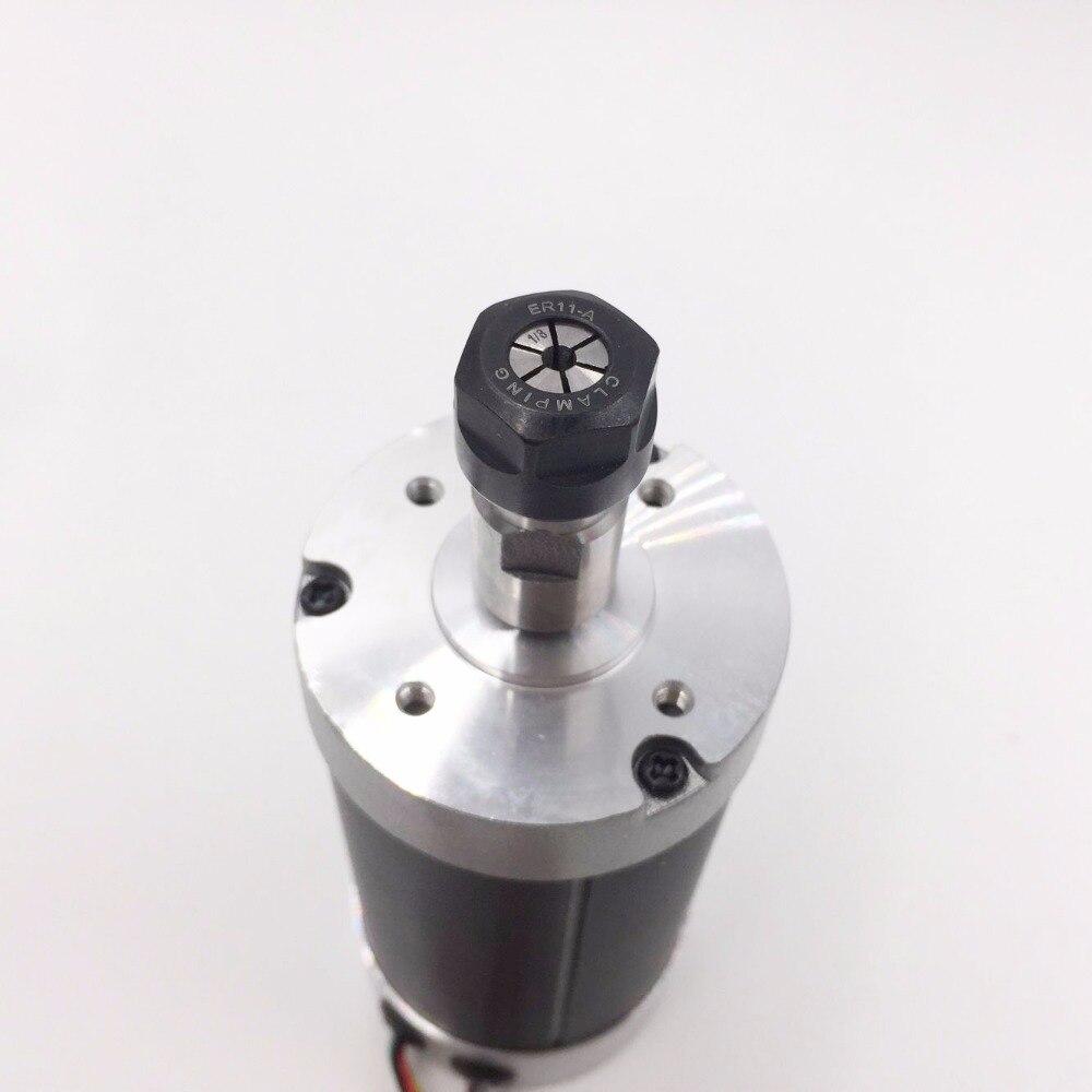 Silnik wrzeciona CNC DC 500 W 24 V 0,629 nm Chłodzenie powietrzem - Obrabiarki i akcesoria - Zdjęcie 4