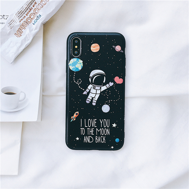 Space Patterned Phone Case