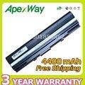 Apexway 4400mAh battery for asus 90-NX62B2000Y 90-XB0POABT00000Q 9COAAS031219 A32-UL20 1201 1201HA 1201N 1201PN 1201T UL20 UL20A