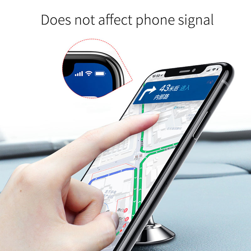OUSU Car Phone Holder Magnetic Mobile Stand For xiaomi iphone Magnet Phone Holder In Car Support Telephone soporte celular in Phone Holders Stands from Cellphones Telecommunications