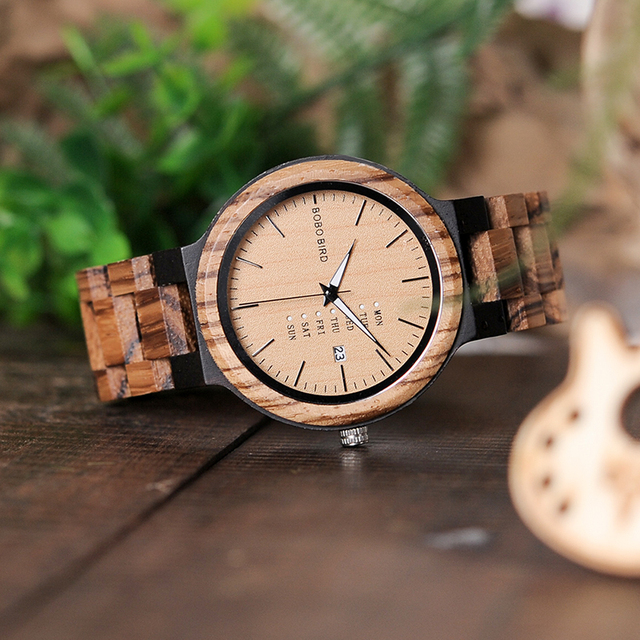 Week Display Date Quartz Wristwatches