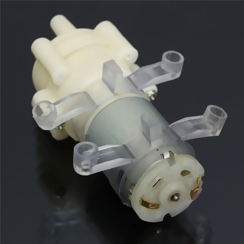 DC 12V Priming Diaphragm Pump Spray Motor For Water Dispenser 90 Mm X 40 Mm X 35 Mm Max Suction 2m