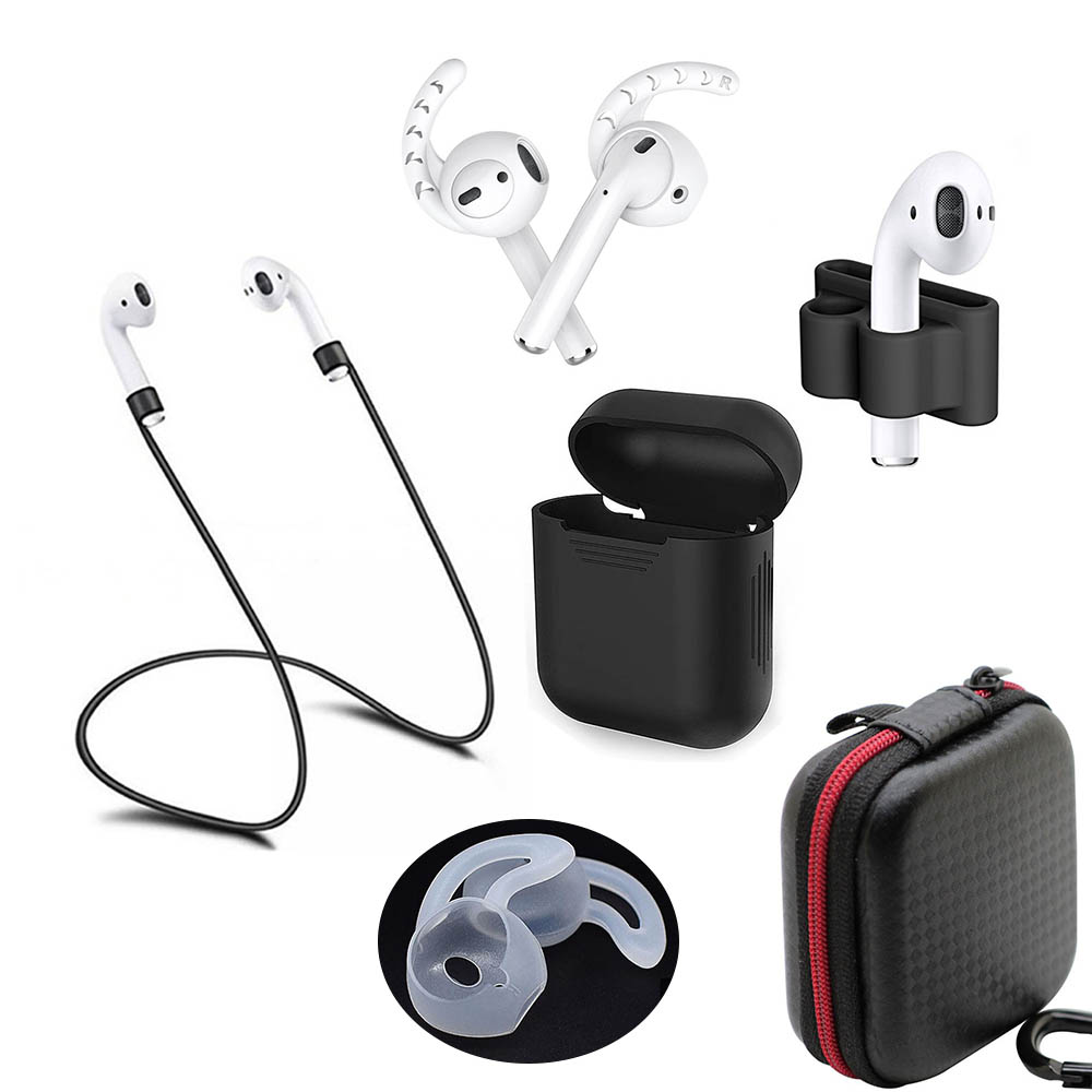For airpods wireless bluetooth headset <font><b>case</b></font> accessory for i10 i11 i12 i16 <font><b>i18</b></font> i19 i20 <font><b>tws</b></font> i30 w1 chip 1:1 image
