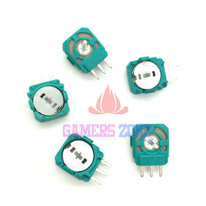 Image 5 - 100PCS For PS4 Joystick Axis Analog Sensor Green Part Module Micro Switch for Playstation4 PS4 Controller