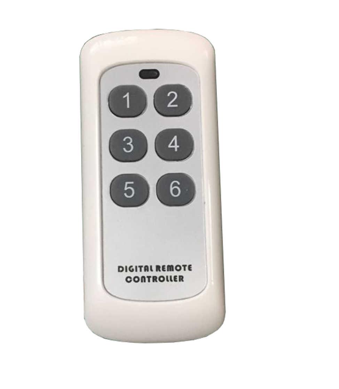 RF Mini Remote Controller, Dinding Lampu Alat Ekstra Digital Lampu Dinding Remote Switch Controller RF315 RF433 Controller