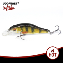 Купить с кэшбэком New Fishing Lure Lifelike Crankbait 5cm 7cm Minnow Lures Artificial Hard Baits Swimbait Sinking Wobblers For Pike Bass Trout